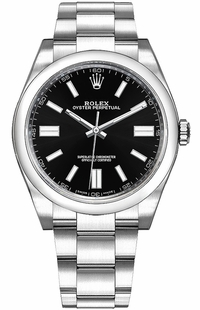 Rolex Oyster Perpetual 36 Black Dial Men's Watch 116000