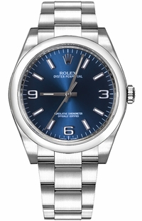 Rolex Oyster Perpetual 36 Blue Dial Women's Automatic Watch 116000