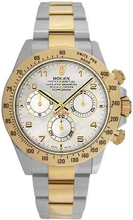 Rolex Cosmograph Daytona Mother of Pearl Dial Men's Watch 116523