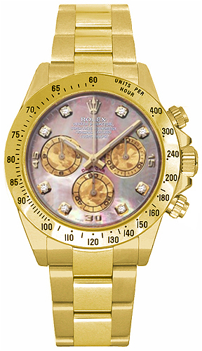 Rolex Cosmograph Daytona Diamond Watch 116528