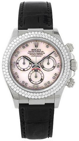 Rolex Cosmograph Daytona Mother of Pearl Dial Watch 116589