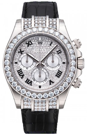 116599 Rolex Daytona Diamond Mens Watch