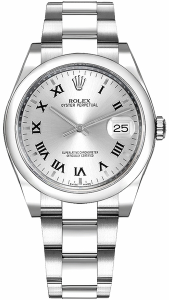 Rolex Oyster Perpetual Date 34 Stainless Steel Watch 115200