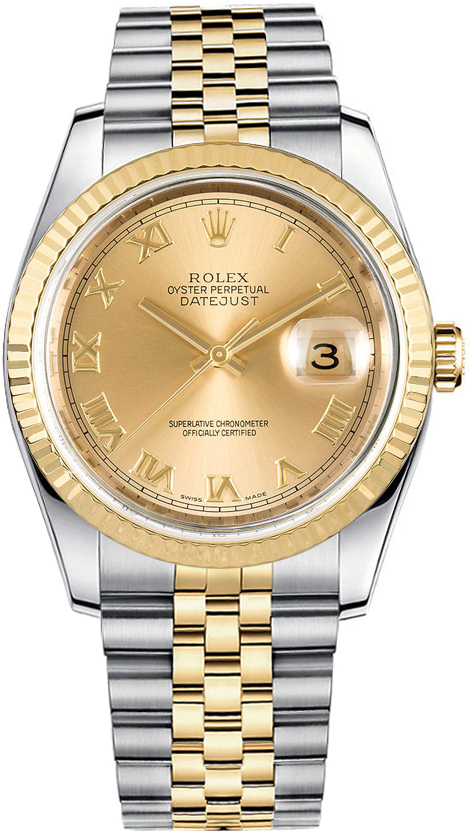 Rolex Datejust 36 Luxury Watch 116233