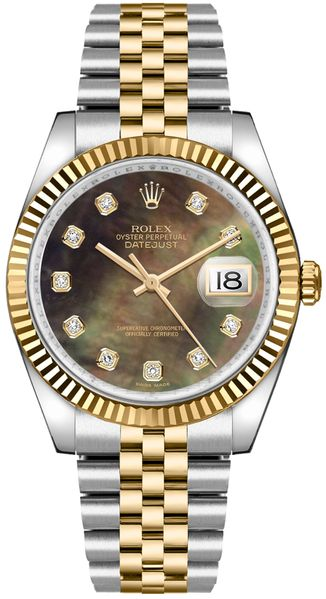 Rolex Datejust 36 Diamond Luxury Watch 116233
