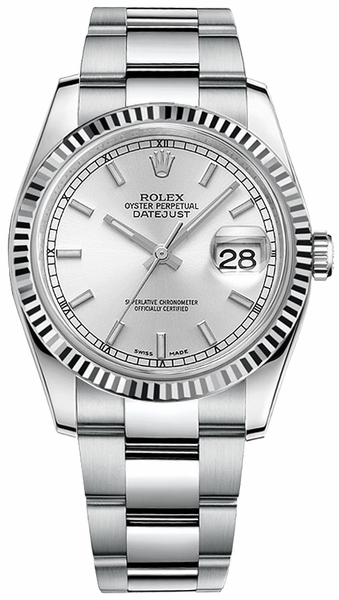 Rolex Datejust 36 Steel Ladies Watch 116234