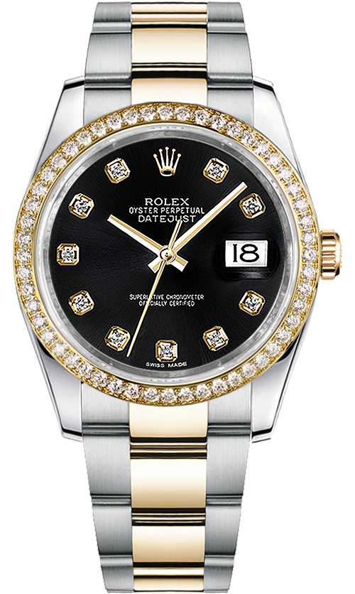 116243 Rolex Oyster Perpetual Datejust 36 Men S Watch