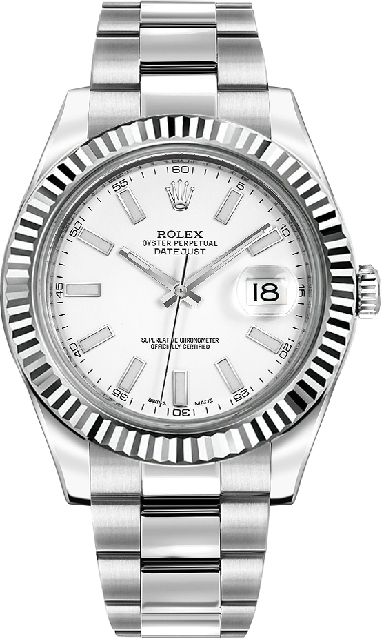 eadaf70a72c Never Worn Never Used Not Pre Owned - Rolex DateJust 2 116334 Steel ...