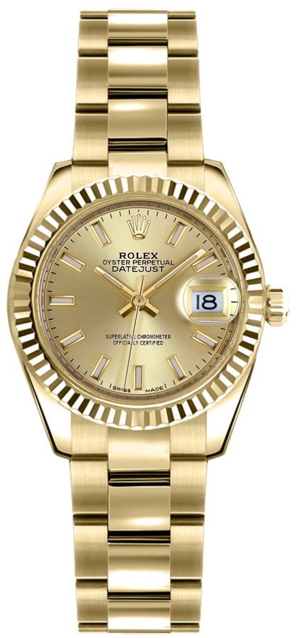 Rolex Lady Datejust 26 Women S Watch 179178