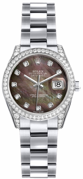 Rolex Lady-Datejust 26 Solid 18K Gold Watch 179159
