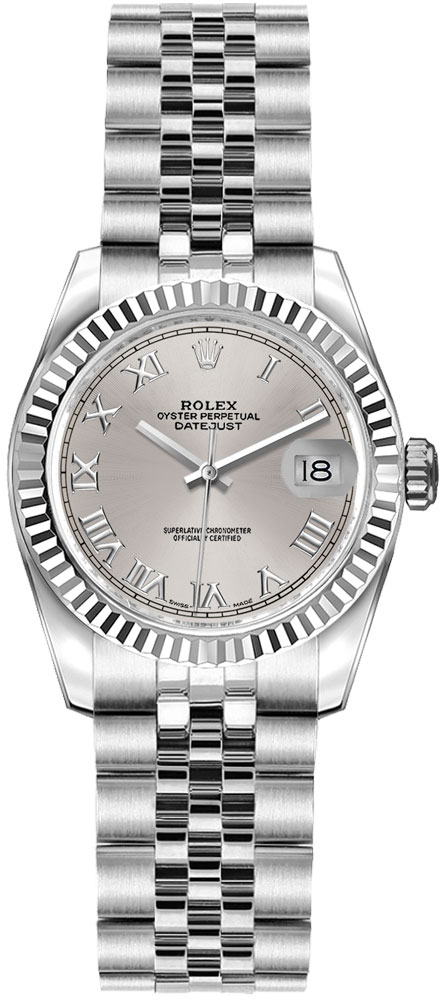 Rolex_Lady-Datejust_26_Silver_Roman_Numeral_Dial_Ladies_Watch_179174