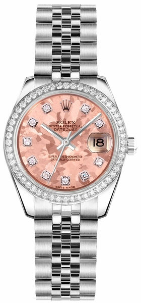 Rolex Lady-Datejust 26 Stainless Steel Watch 179384