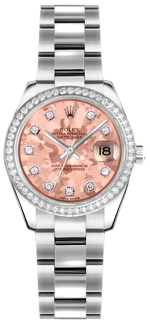 445a65a16e0b3 Rolex Lady-Datejust 26 White Gold Bezel Watch 179384 - image 0 ...