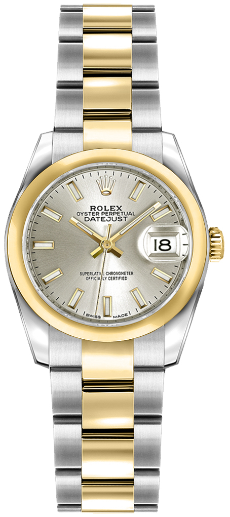Rolex_Lady-Datejust_26_Silver_Dial_Oyster_Bracelet_Watch_179163