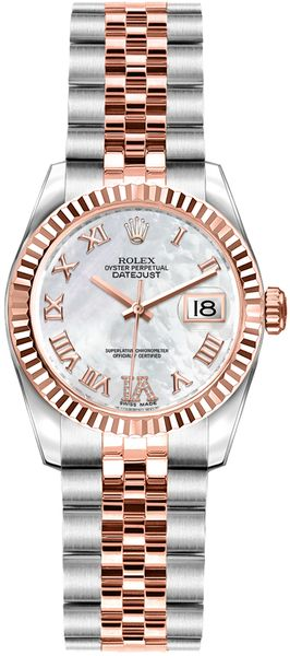 Rolex Lady-Datejust 26 Swiss Automatic Watch 179171
