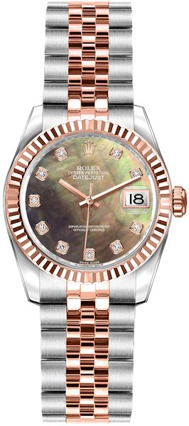 Rolex Lady-Datejust 26 Steel & Rose Gold Watch 179171