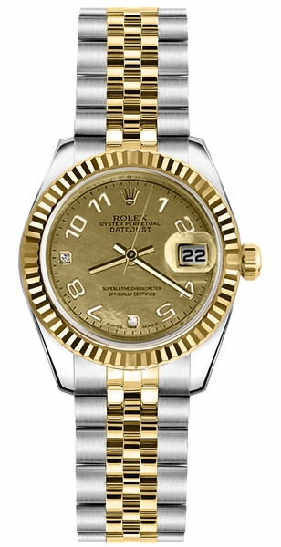 Rolex Lady-Datejust 26 Swiss Automatic Women's Watch 179173