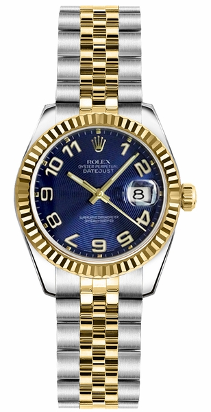 Rolex Lady-Datejust 26 Steel & Yellow Gold Watch 179173