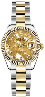 Rolex Lady-Datejust 26 Stainless Steel & Gold Women's Watch 179313