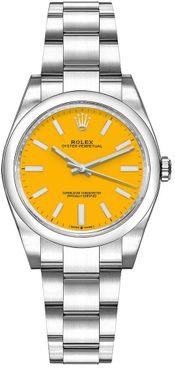 Rolex Oyster Perpetual 31 Yellow Dial Women's Watch 277200-0005