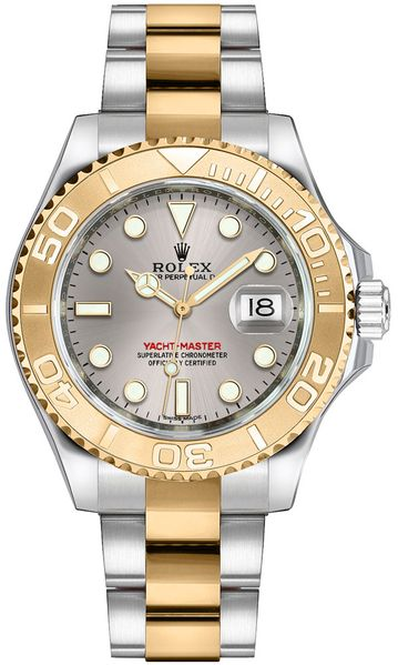Rolex Yacht-Master 35 Gold & Steel Watch 168623