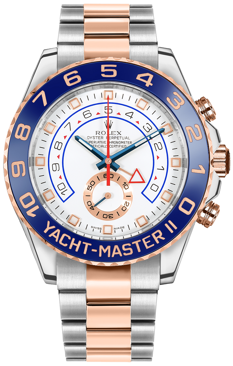 Rolex Yacht-Master II Oystersteel & Everose Gold 44mm Men's Watch 116681 Rose Gold Women's Watches