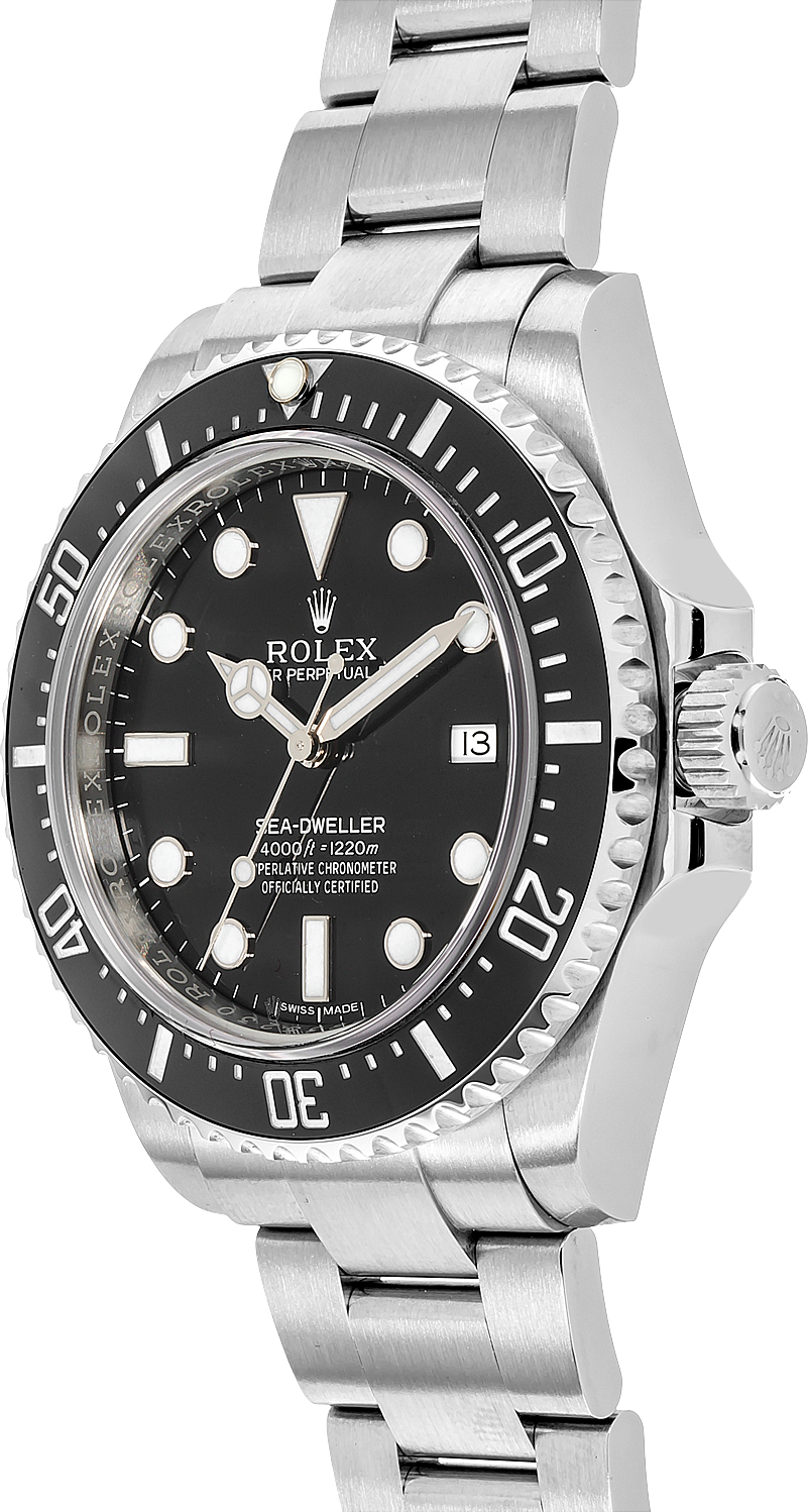 116600 rolex oyster perpetual sea dweller mens automatic watch for Rolex sea wweller