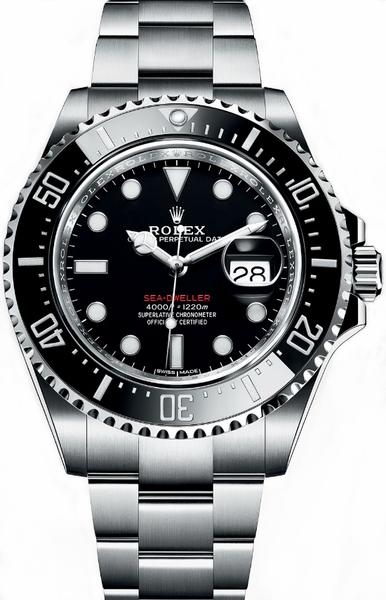 Rolex Sea-Dweller Black Dial Men's Watch 126600