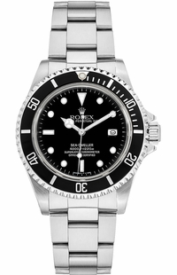 Rolex Sea-Dweller 4000 Black Dial Men's Watch 16600