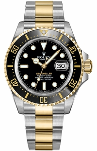 Rolex Sea-Dweller Solid Gold & Oystersteel Men's Watch 126603-0001