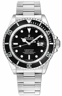 Rolex Submariner Date 40mm Men's Watch 16610