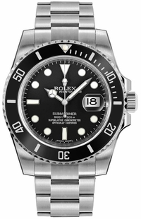 Rolex Submariner Date Black Dial Men's Watch 116610LN-0001