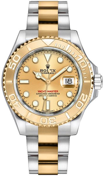 Rolex Yacht-Master 35 Luxury Watch 168623