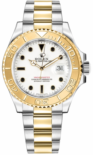 Rolex Yacht-Master 35 Men's Automatic Watch 168623