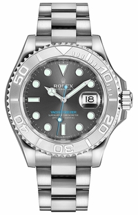 Rolex Yacht-Master 37 Rhodium Dial Chronometer Luxury Watch 268622