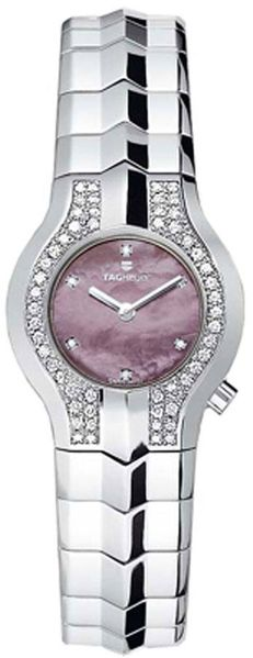 Tag Heuer Alter Ego Pink Pearl Dial & Diamond Ladies Fashion Watch WAA1415.BA0760