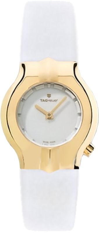 7f8ed4b38557 Tag Heuer Alter Ego Solid 18k Gold Bezel Women s Watch WP1440.