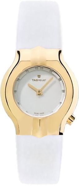 Tag Heuer Alter Ego Solid 18k Gold Bezel Women's Watch WP1440.FC8149
