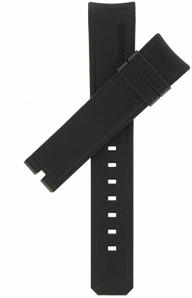 Tag Heuer Aquaracer 20mm Black Rubber Strap FT8009