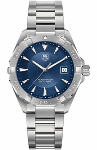 Tag Heuer Aquaracer Blue Dial Stainless Men's Watch WAY1112.BA0925