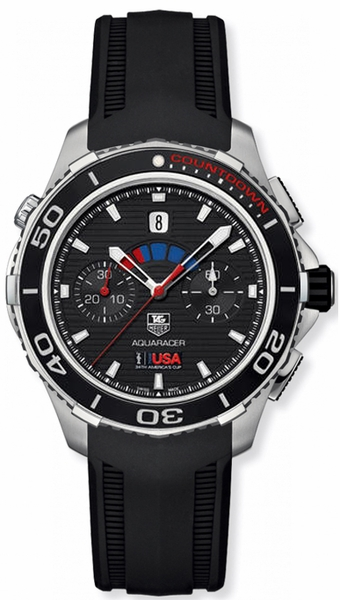 Tag Heuer Aquaracer Calibre 72 Black Dial Men's Watch CAK211B.FT8019
