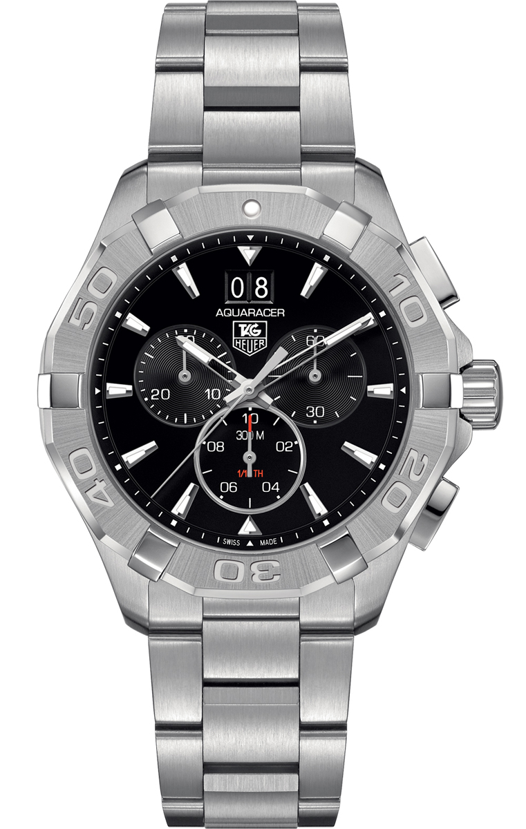 b6b8bf19dcb Tag Heuer Aquaracer Chronograph Steel Men s Watch CAY1110.