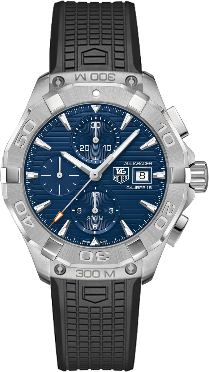 Tag Heuer Aquaracer Blue Dial Chronograph Men's Watch CAY2112.FT6041