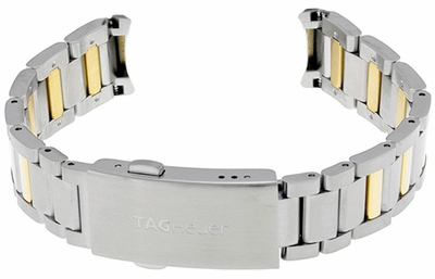 Tag Heuer Aquaracer 15mm Gold & Steel Bracelet BD0917