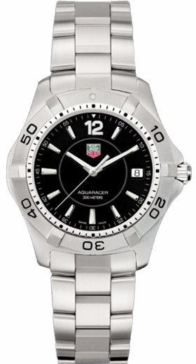 Tag Heuer Aquaracer Black Dial Quartz Watch WAF1110.BA0800