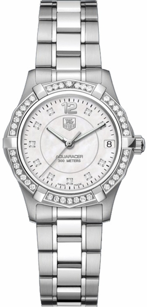 Tag Heuer Aquaracer Pearl Diamond Dial Women's Luxury Watch WAF1313.BA0819