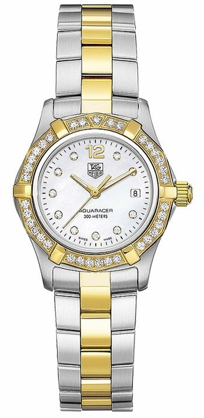 Tag Heuer Aquaracer White Pearl Maria Sharapova Women's Watch WAF1450.BB0825