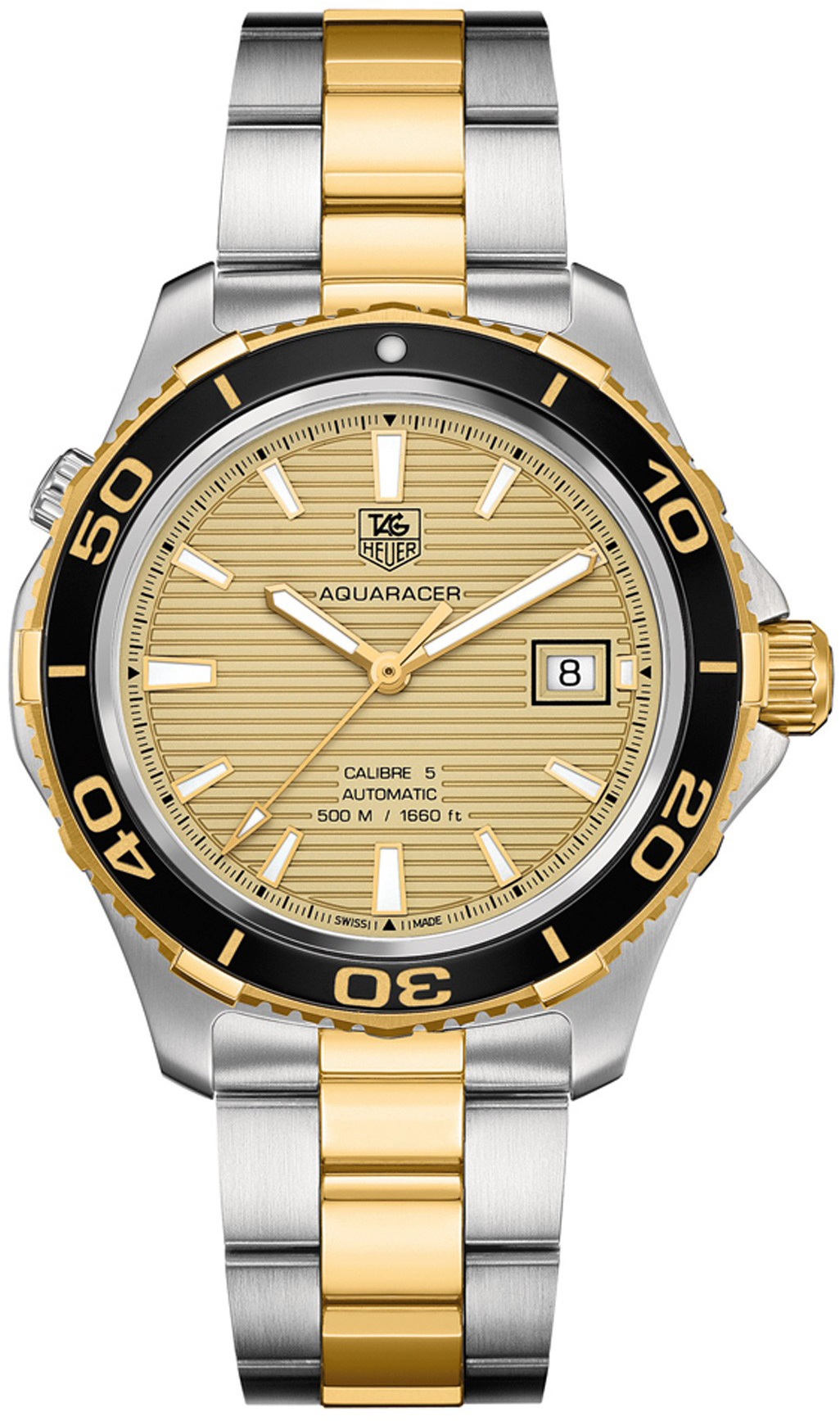 caf857f5940b2 WAK2121.BB0835 TAG Heuer Aquaracer Cal 5 500m Mens Automatic Watch