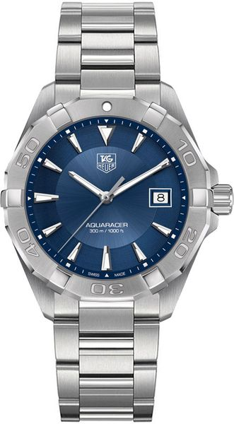 Tag Heuer Aquaracer Blue Dial Stainless Men's Watch WAY1112.BA0928