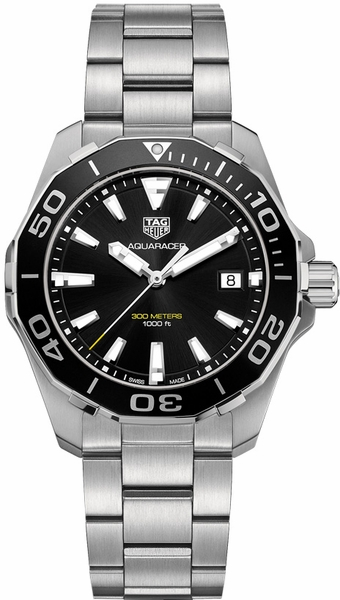 Tag Heuer Aquaracer 41mm Black Dial Men's Watch WAY111A.BA0928